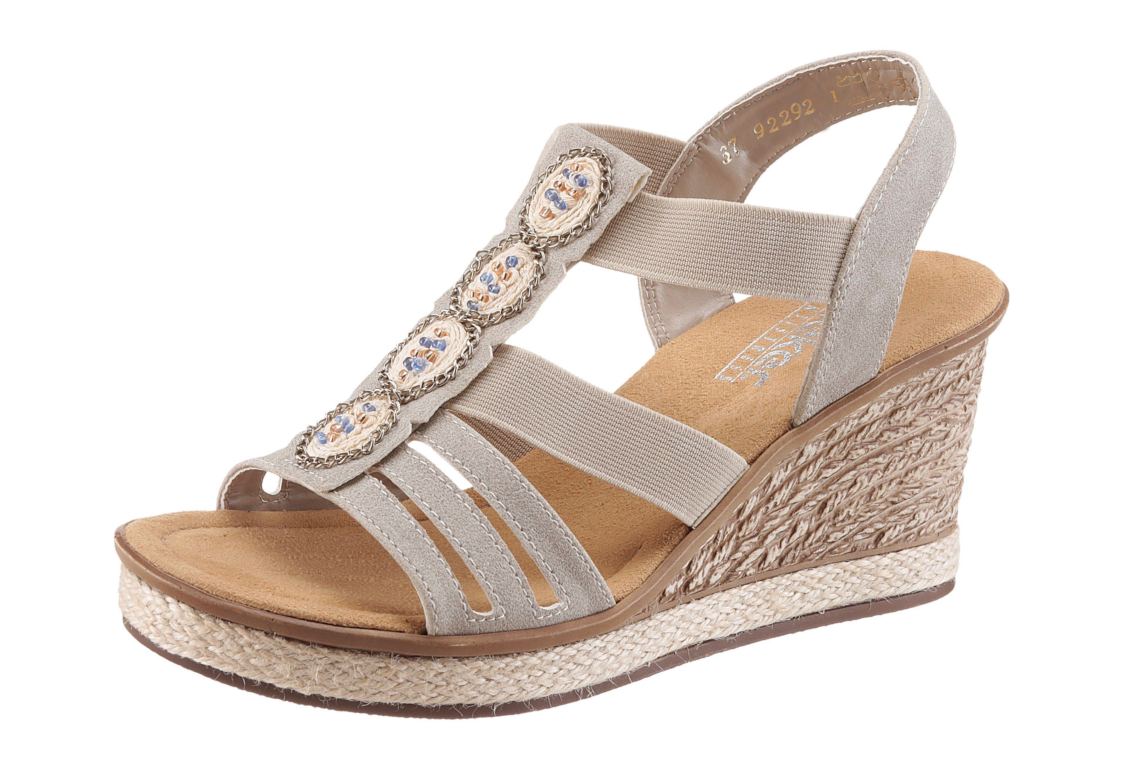 Sandales Compensées Rieker eLGU0zDiPK