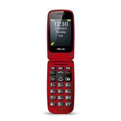 telme mobiele telefoon »x200« rood