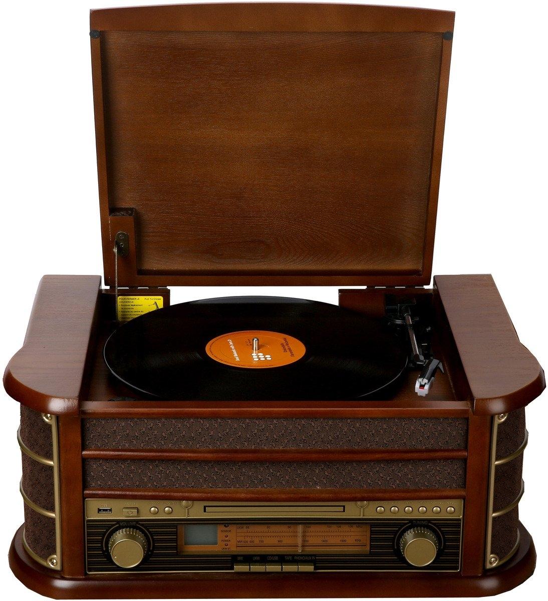 Denver radio »Retro music-center met platenspeler MCR-50« - gratis ruilen op otto.nl