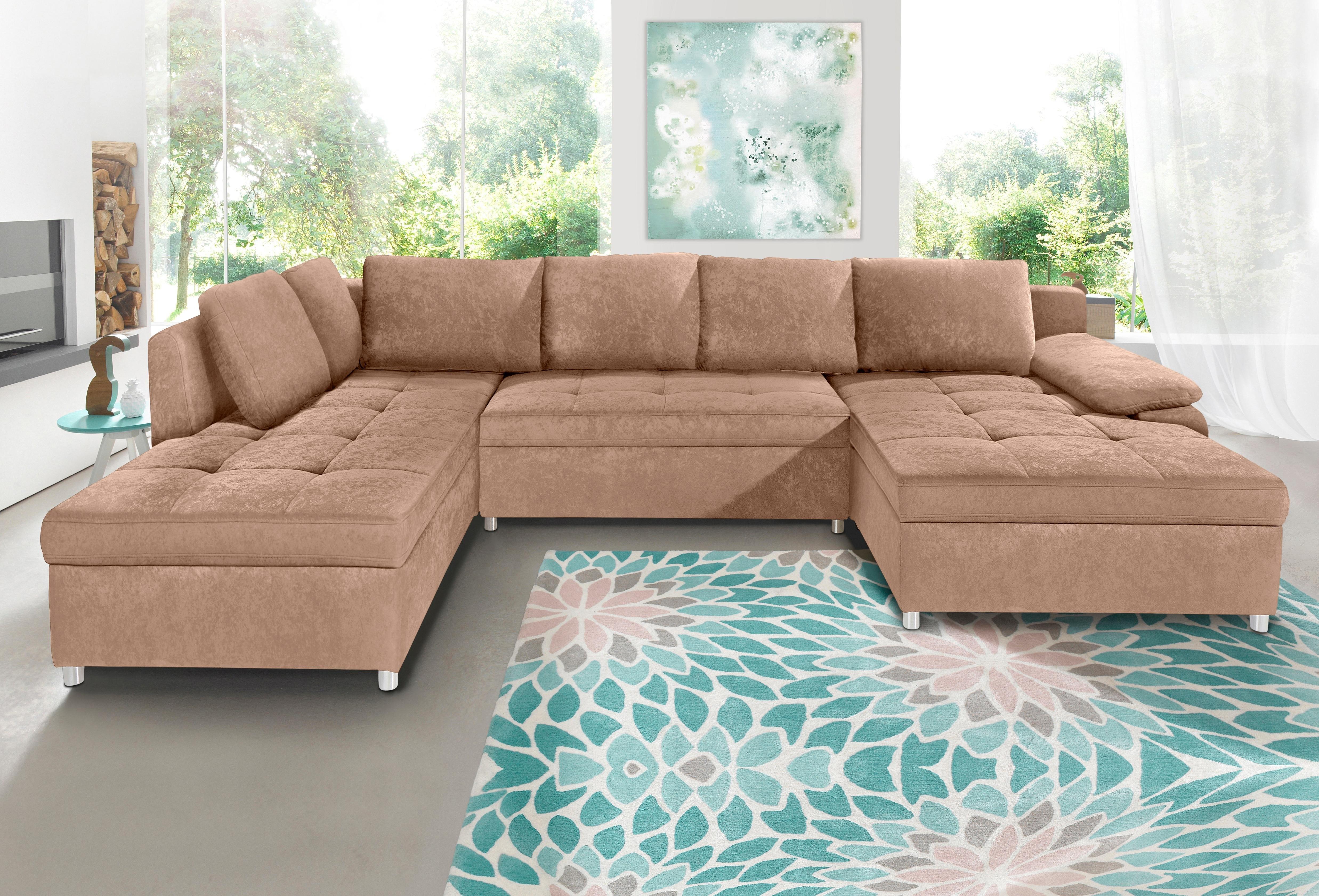sit more zithoek xxl labene naar keuze als slaapbank met bedkist koop je bij otto. Black Bedroom Furniture Sets. Home Design Ideas