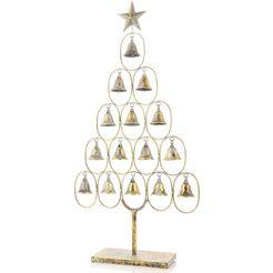 deco-kerstboom met antiek-finish goud