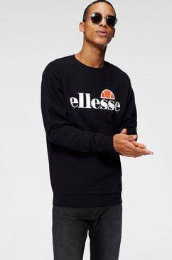 ellesse sweatshirt »sl succiso sweatshirt« zwart