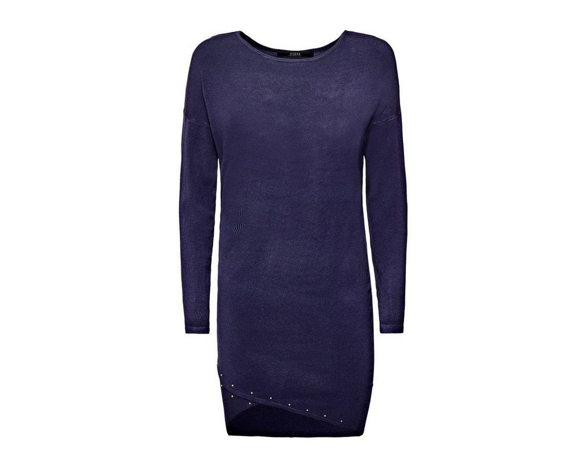 Guess jurk met gekruiste zoom blauw