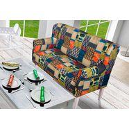 home affaire eetbank »moro« (3-zits), met binnenvering multicolor