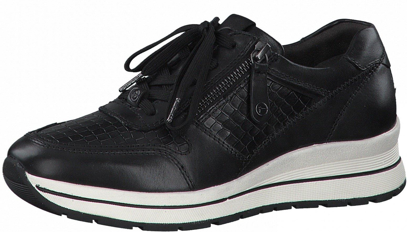 Tamaris sneakers met sleehak Pure Relax met een modieus krokomotief in de webshop van OTTO kopen