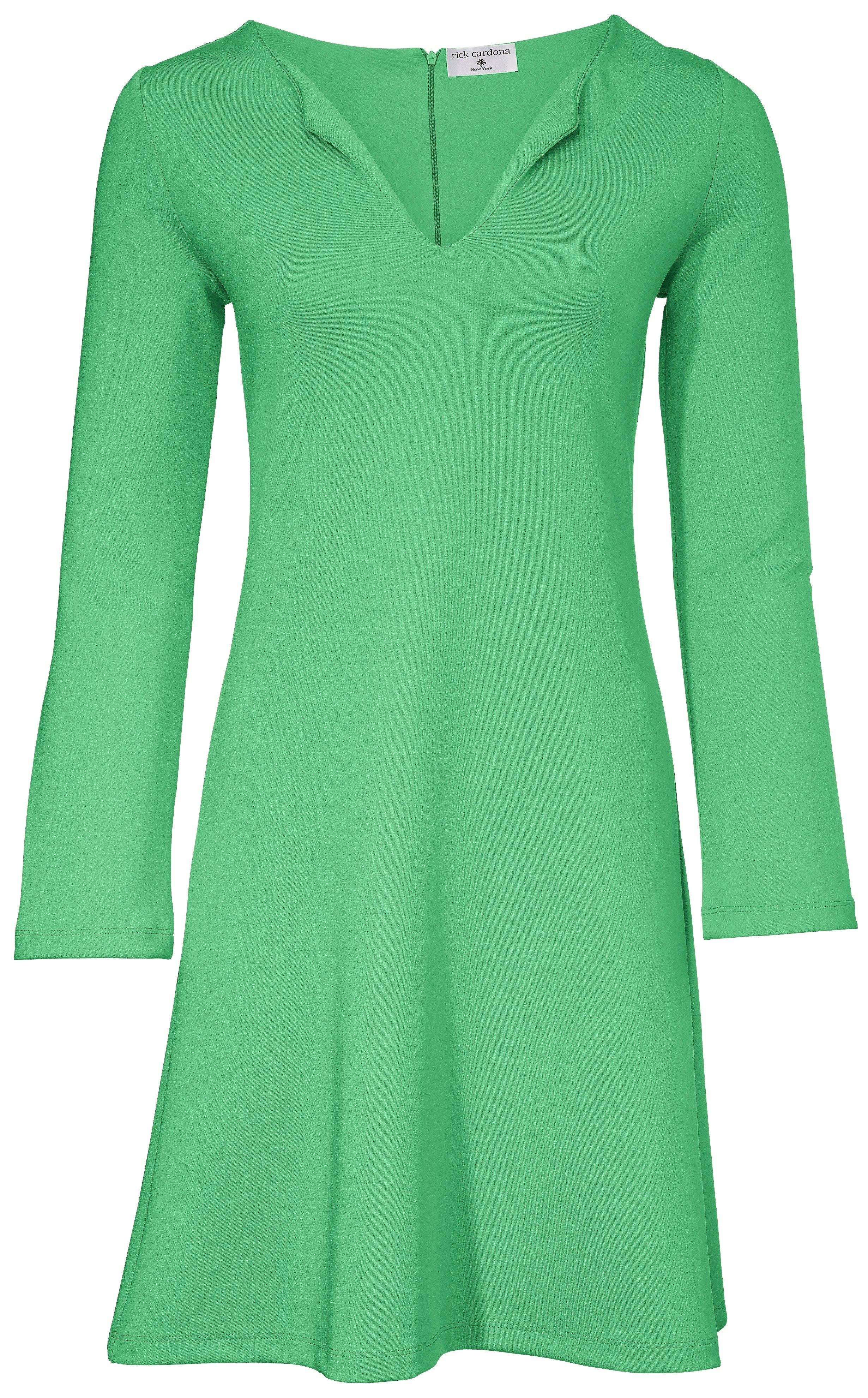 groene jurk dames