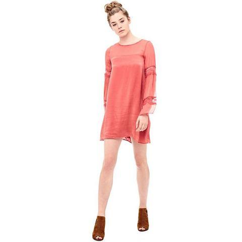 Picture GUESS jurk van zijde roze 687442