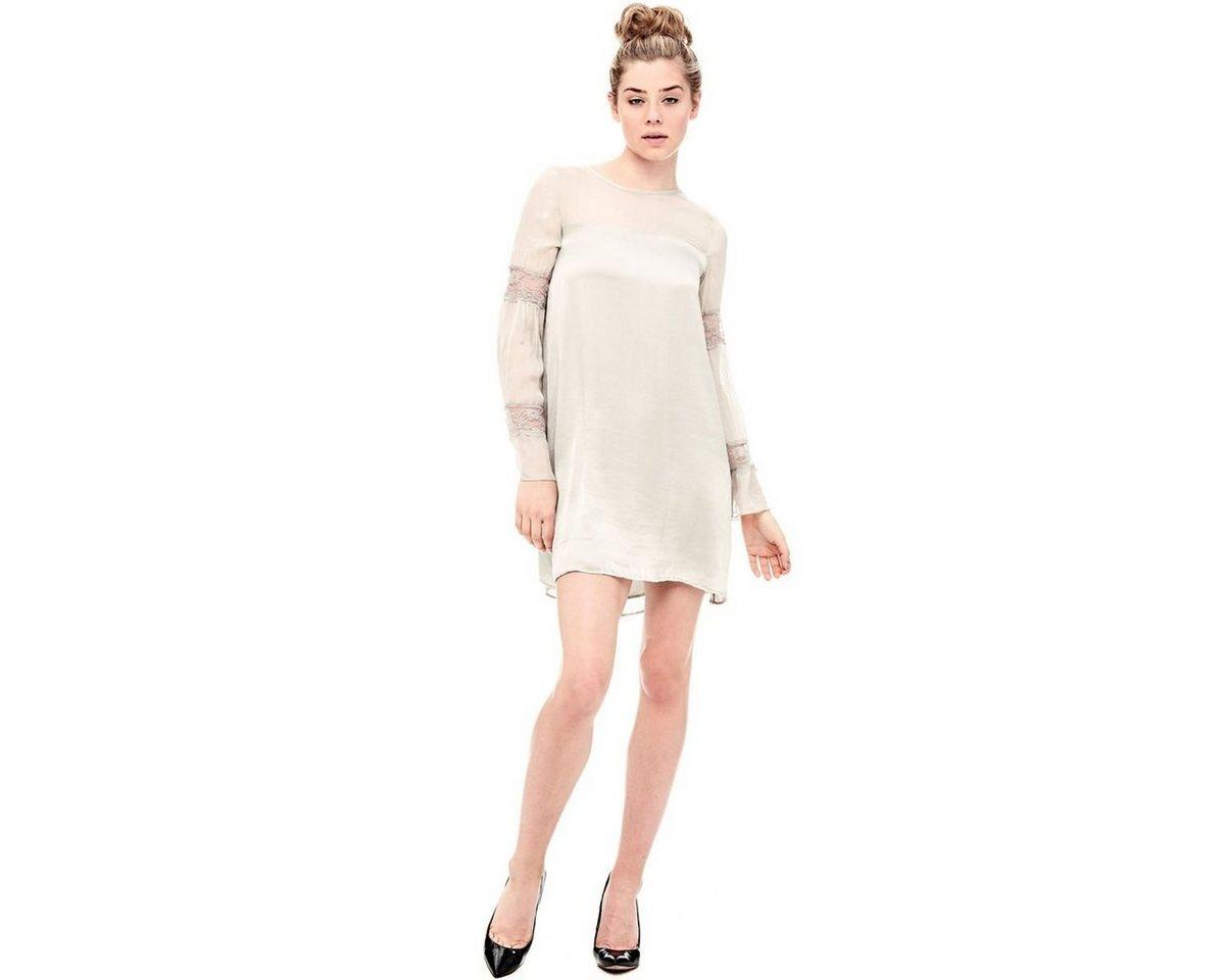 Guess jurk van zijde wit