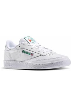 reebok classic sneakers club c 85 wit