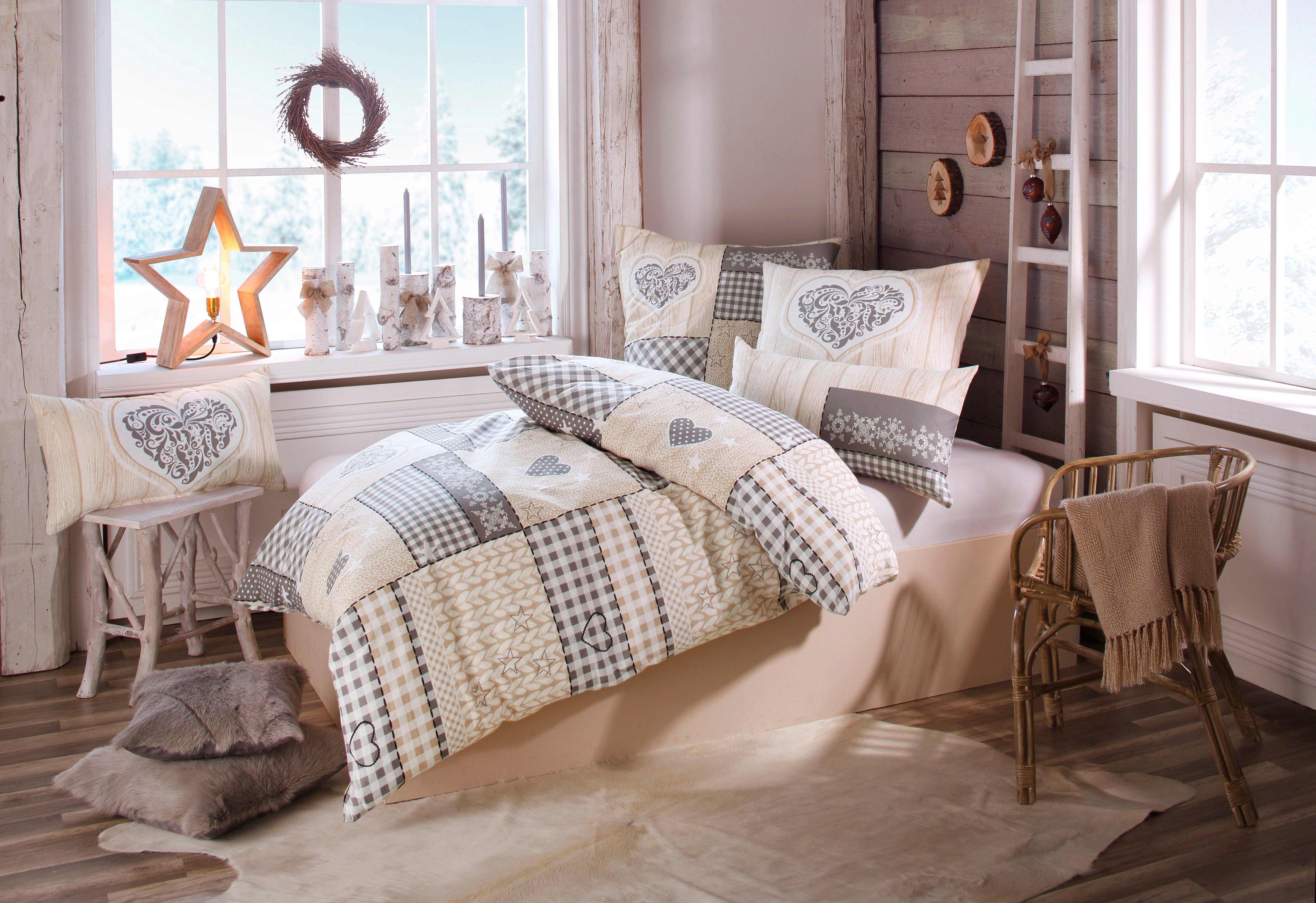Op zoek naar een Home affaire Collection Overtrekset, »Janina«, met patchworkdesign? Koop online bij OTTO