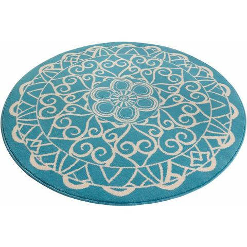 Vloerkleed, rond, ZALA LIVING, »Mandala 1«, geweven