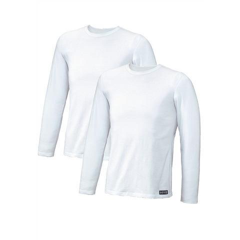 Shirt met lange mouwen, set van 2, H.I.S