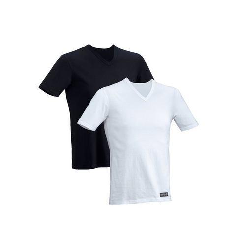 Shirt met korte mouwen, set van 2, H.I.S