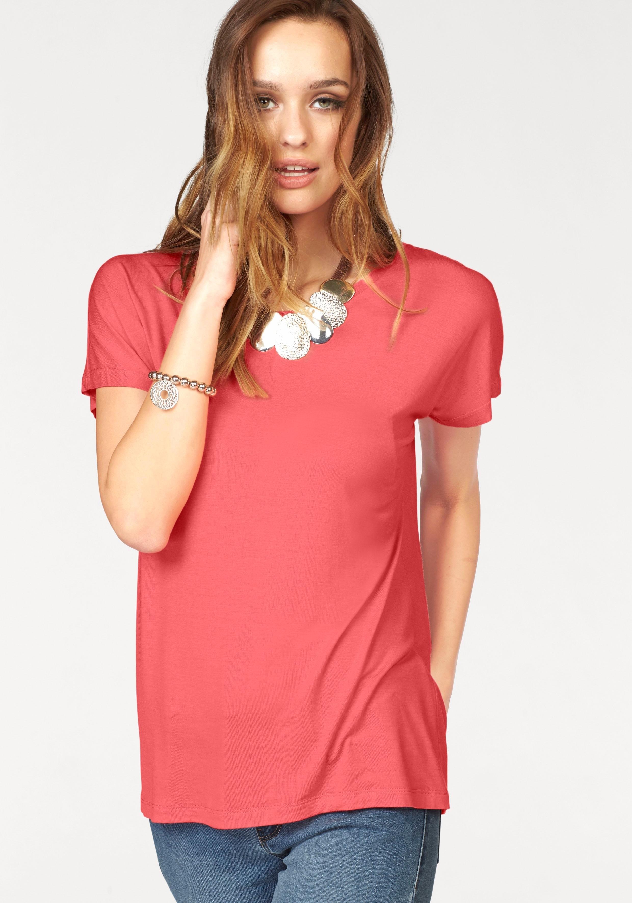 VERO MODA shirt met ronde hals »CHARLY« - gratis ruilen op otto.nl