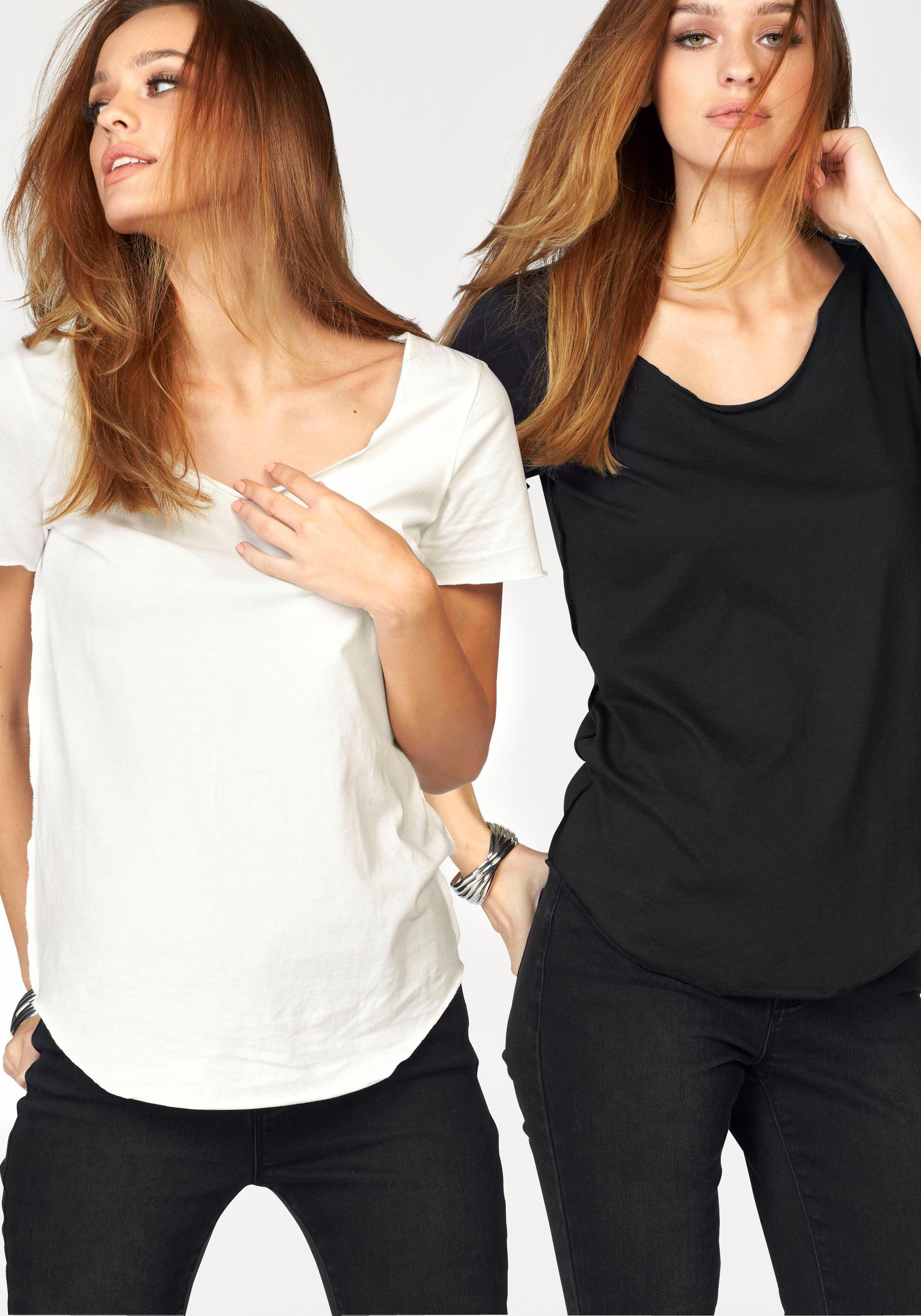 VERO MODA T-shirt »LUA« (set) online kopen op otto.nl