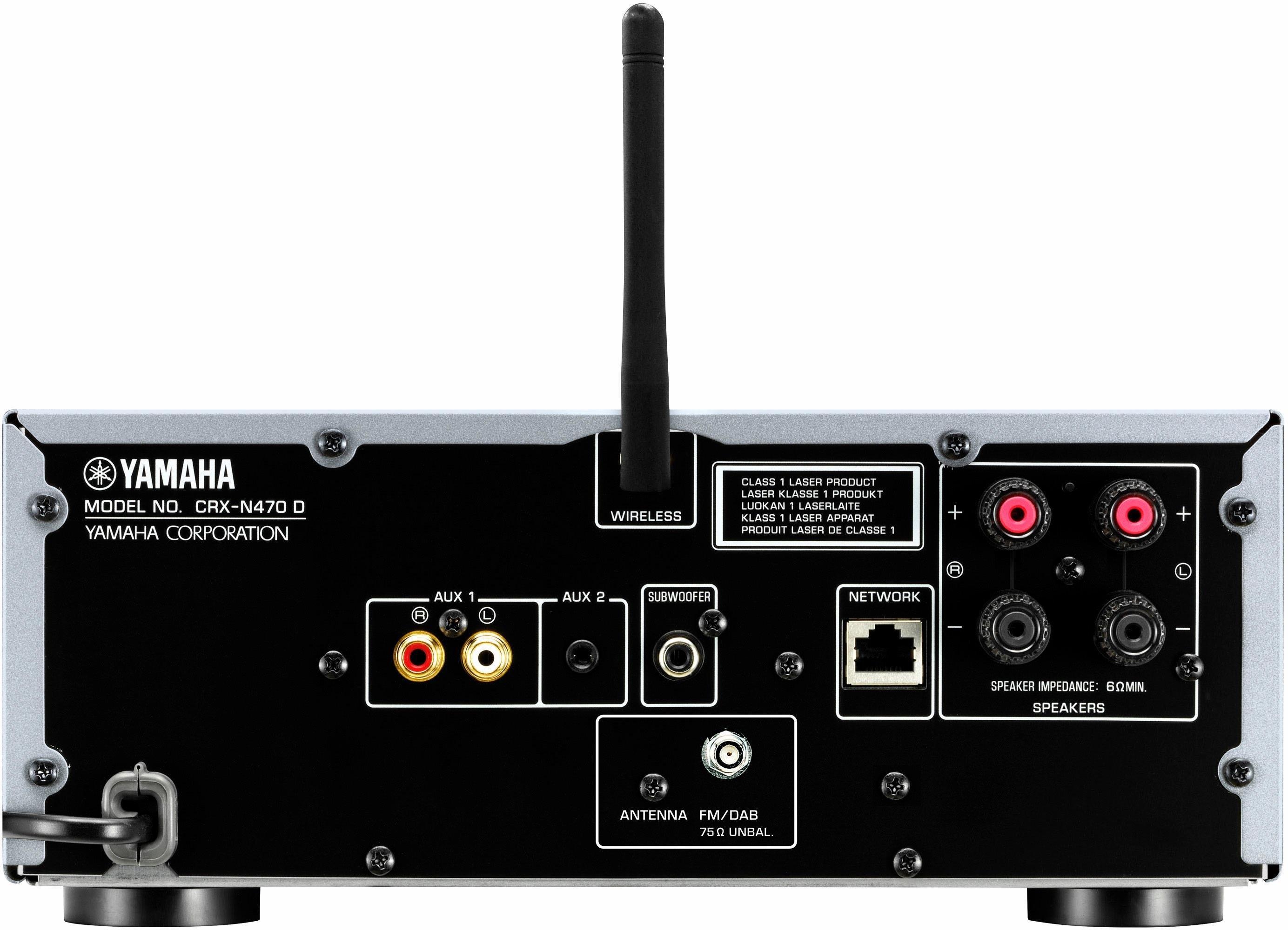 yamaha musiccast mcr n470d stereoset spotify napster juke