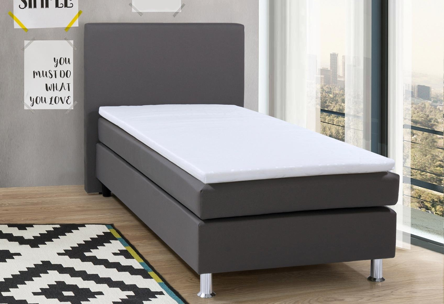 collection ab boxspring incl topmatras nu online kopen otto. Black Bedroom Furniture Sets. Home Design Ideas