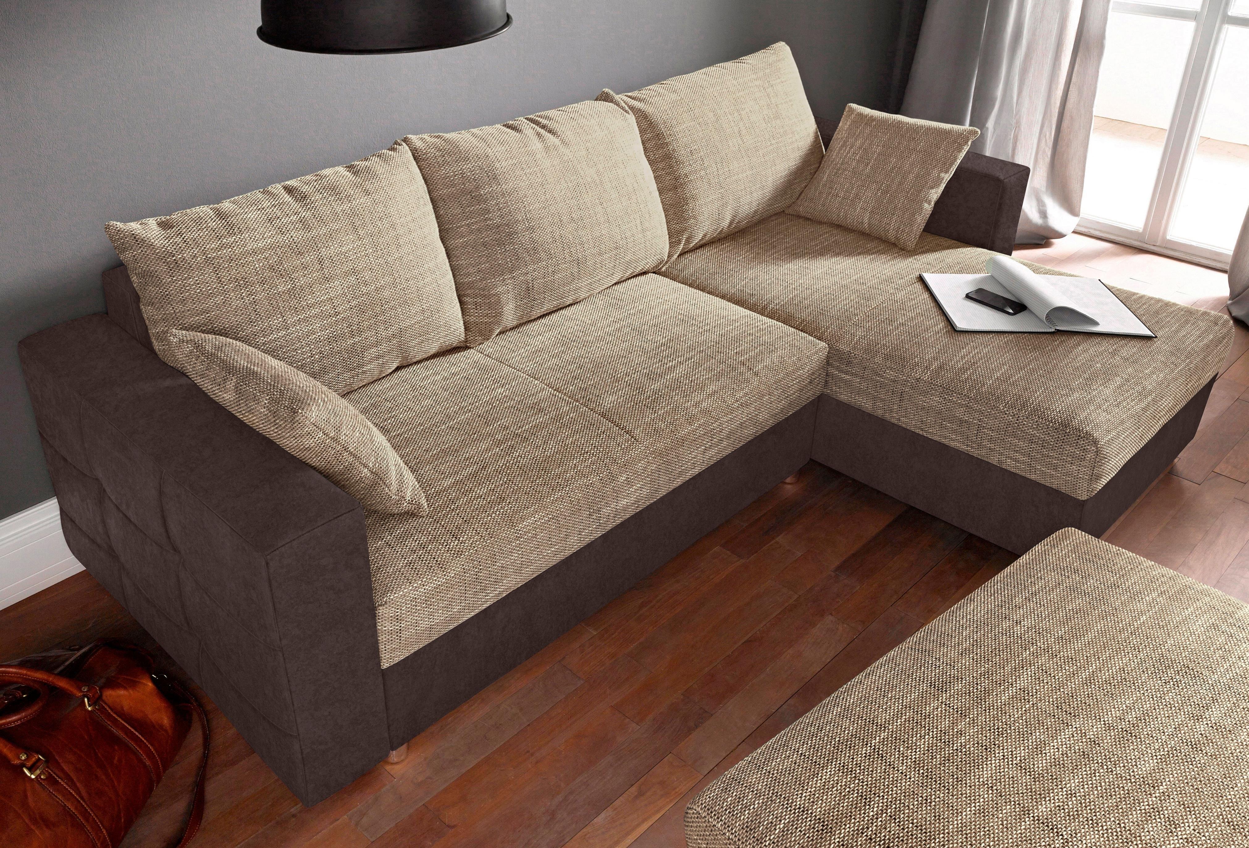 Sit&more hoekbank, inclusief slaapfunctie en bedkist veilig op otto.nl kopen