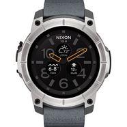 nixon smartwatch »mission« grijs