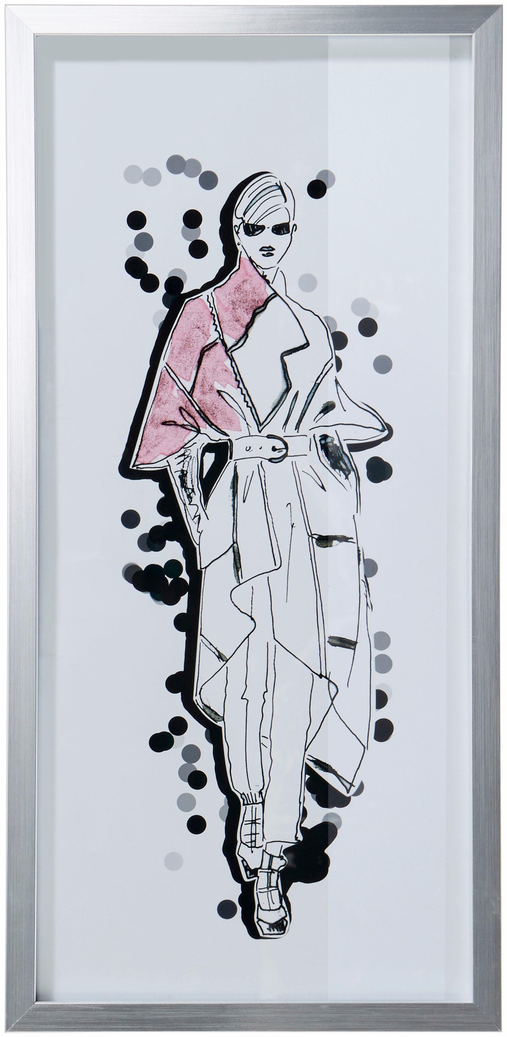 Guido Maria Kretschmer Home&Living GMK Home & Living artprint met zilveren lijst, 23x50 cm bestellen: 30 dagen bedenktijd