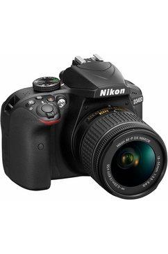 Set met Nikon D3400 spiegelreflexcamera NIKKOR 18-55 & 70-300 mm VR zoom + tas