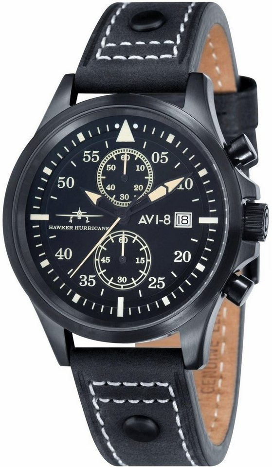 AVI-8 chronograaf »Hawker Hurricane AV-4013-04«