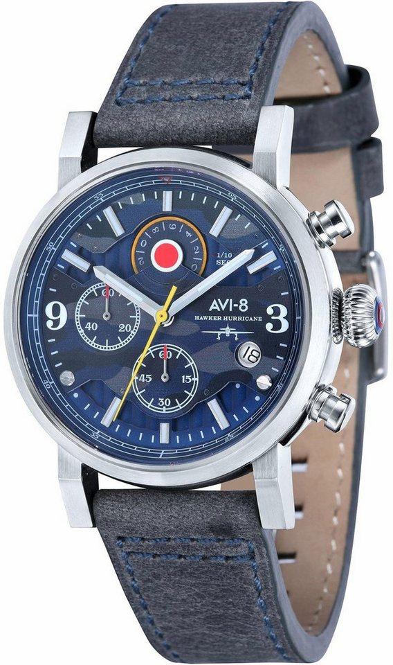 AVI-8 chronograaf »Hawker Hurricane AV-4041-07«