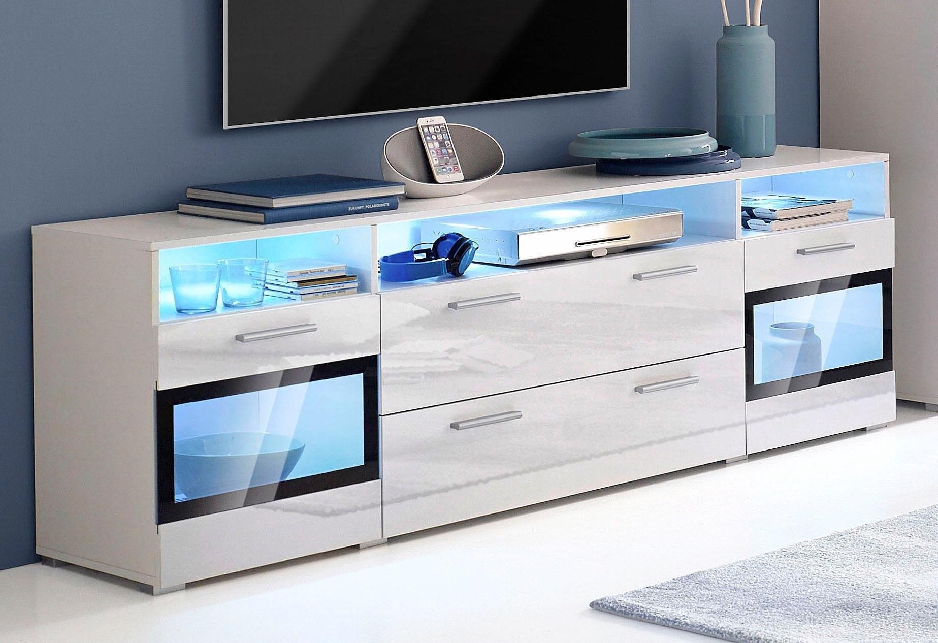 TRENDMANUFAKTUR tv-meubel Sarah Breedte 182 cm voordelig en veilig online kopen