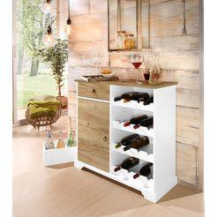 home affaire wijnkast »milla« wit