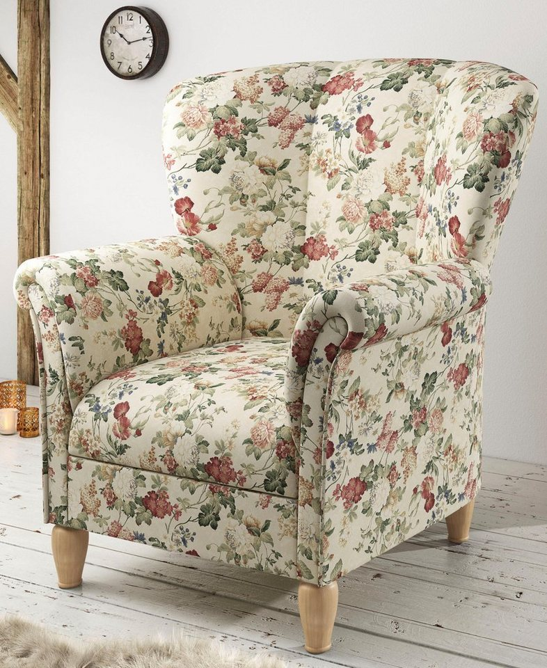 HOME AFFAIRE fauteuil Flair met hoge leuning