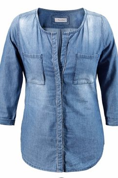 Jeans-blouse in used-wassing