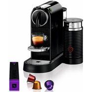 nespresso koffiecapsulemachine nespresso citiz en 267.bae, met aeroccino melkopschuimer zwart