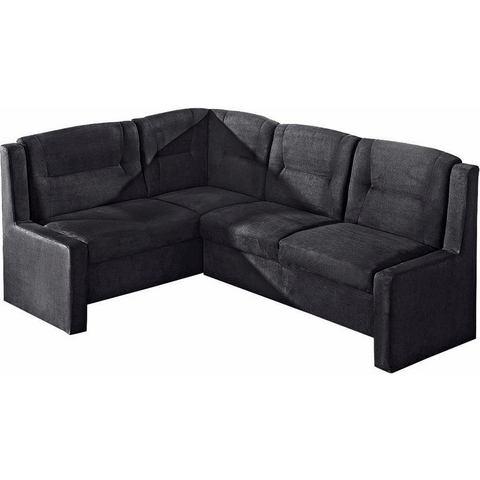 Hoekbank Max Winzer luxe-Microgaren zwart 257767