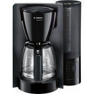 bosch filterkoffieapparaat comfortline tka6a043, 1,25 l zwart