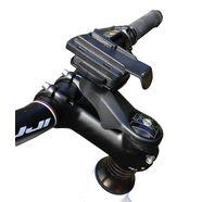 tahuna houder »vorbau fahrradhalterung inkl. garmin adapter« zwart