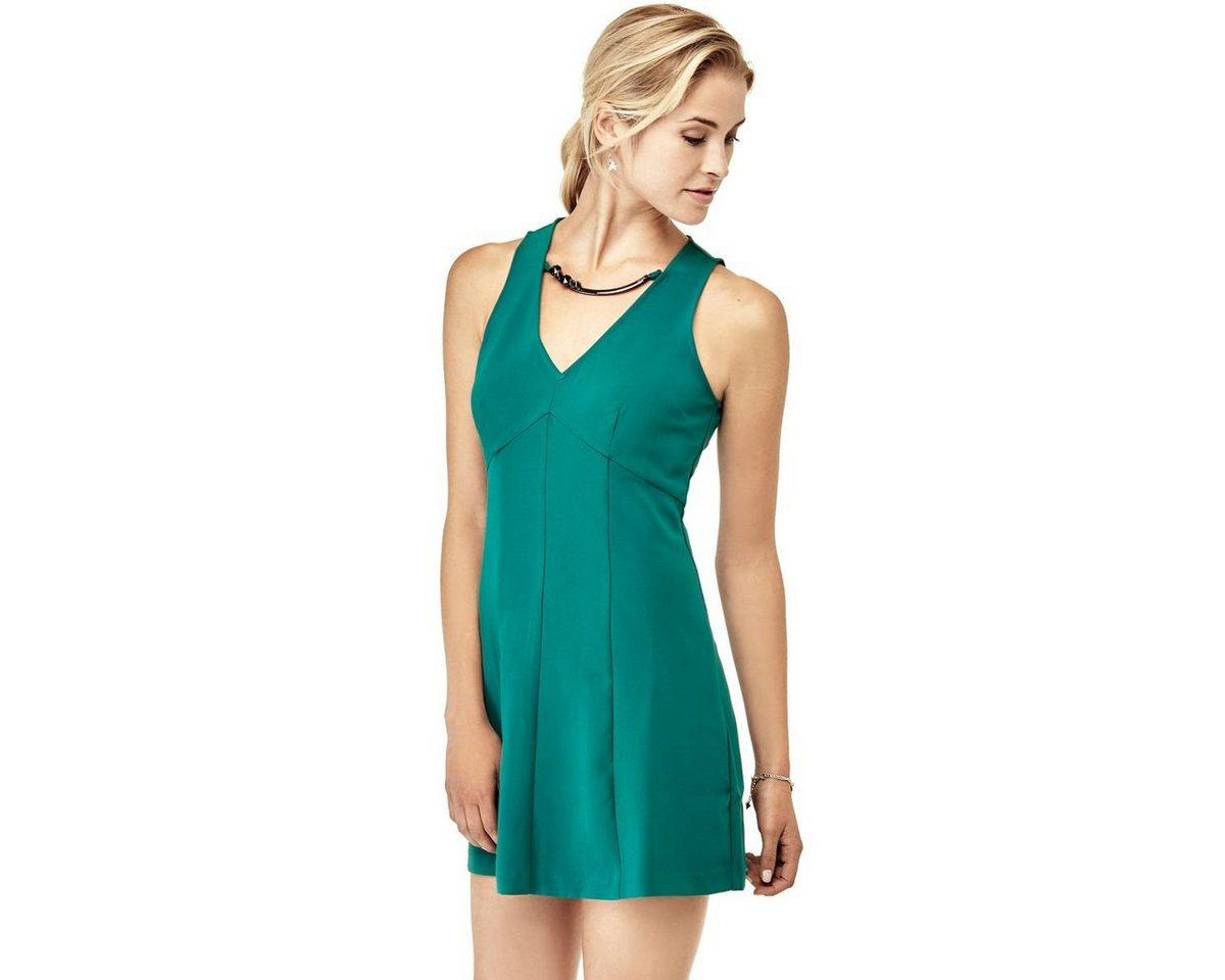 Guess jurk met mooie halslijn groen