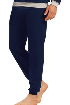 trigema pyjamabroek blauw