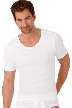 trigema heren onderhemd met half mouw wit