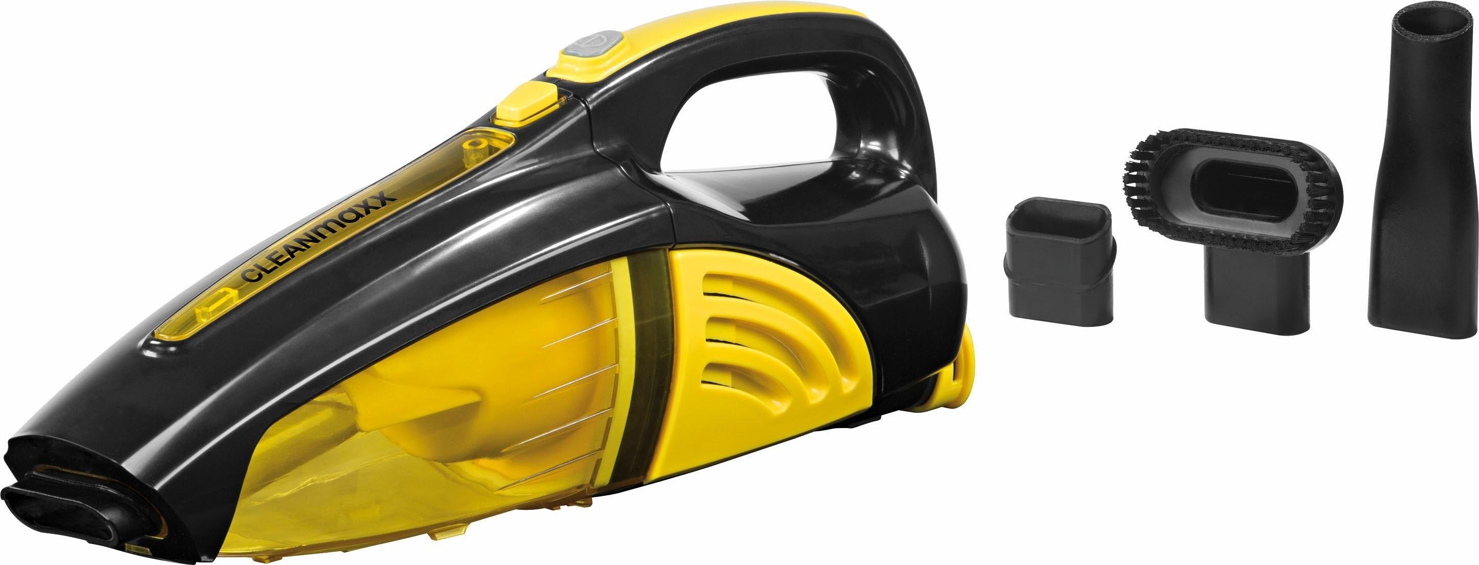 cleanmaxx CLEAN MAXX accu-kruimeldief 2-in-1, nat/droog, 7,4V, geel/zwart bestellen: 14 dagen bedenktijd