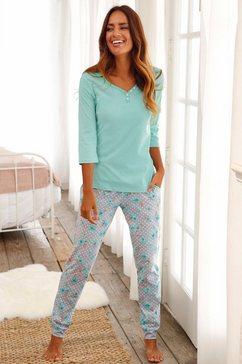 pyjama, h.i.s groen