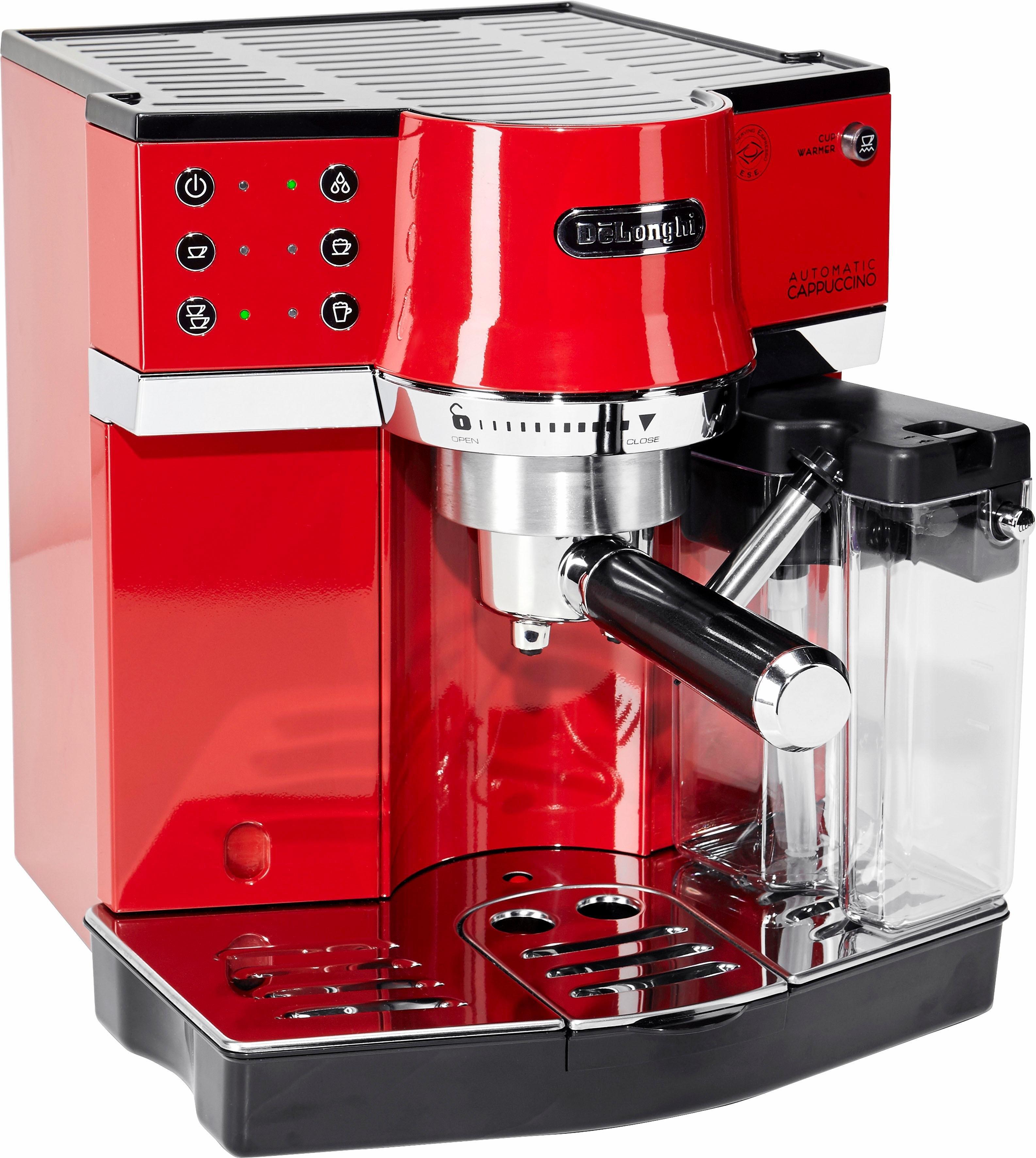 Delonghi De'Longhi Espresso-apparaat EC 860.R, met melkopschuimer, rood goedkoop op otto.nl kopen