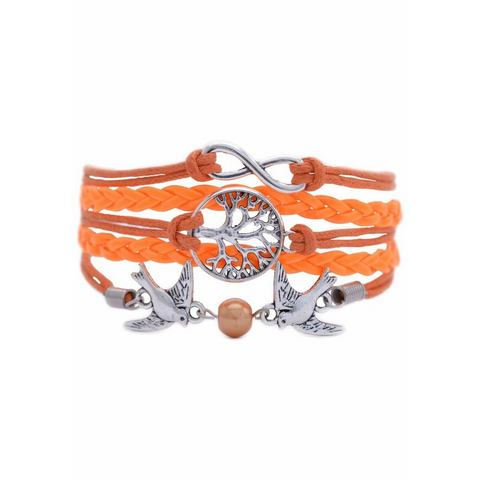 NU 15% KORTING: FIRETTI armband »Infinity-oneindigheid, levensboom, zwaluwen«