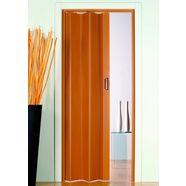 kunststof vouwdeur »monica«, bxh: 83x204 cm, beukenkleur-pastel zonder raam beige
