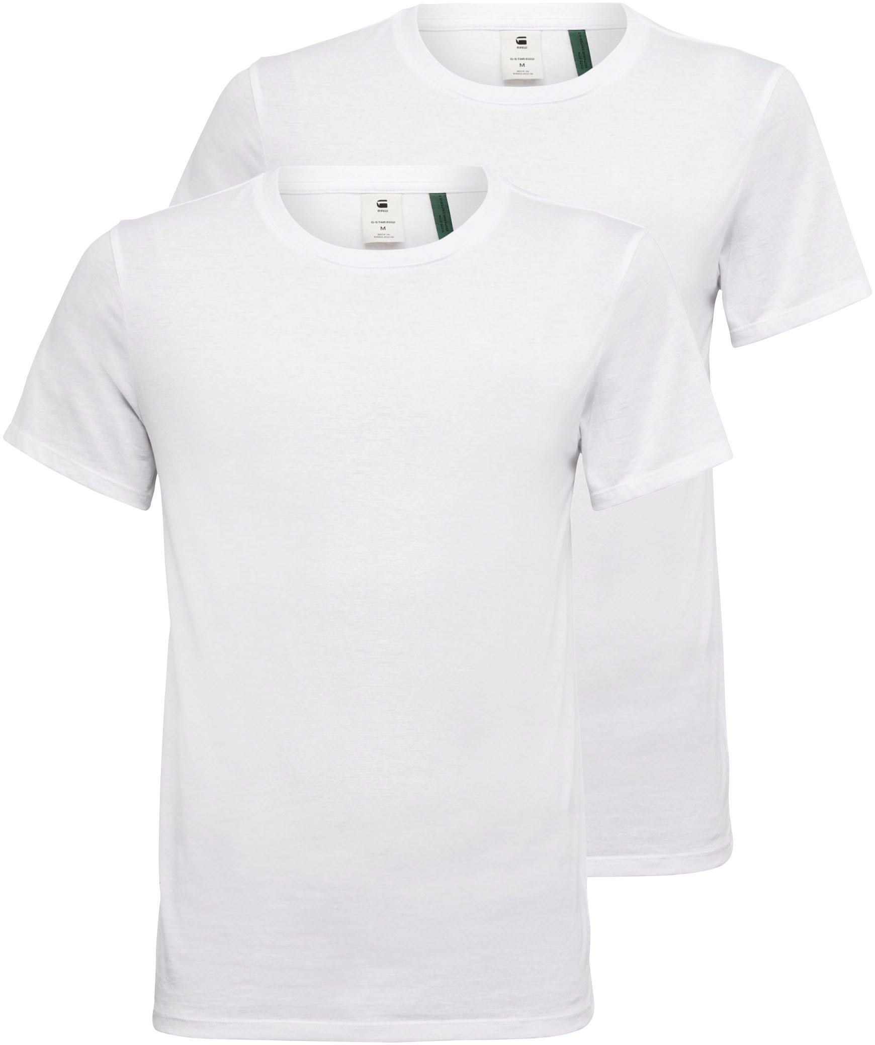 Op zoek naar een G-Star RAW shirt met ronde hals Base htr r t s/s 2 (set, 2-delig, Set van 2)? Koop online bij OTTO