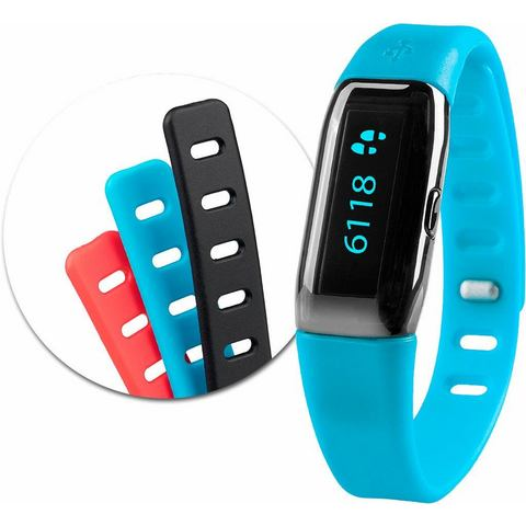 Medisana mx3 activity tracker bluetooth + 3 verwisselbare armbanden