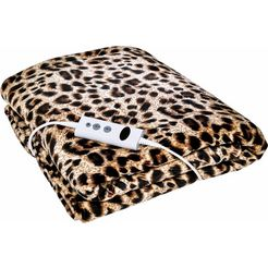 promed elektrische deken 'khp-2.3l' bruin