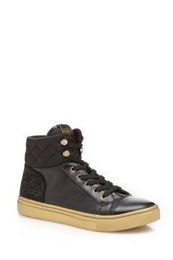 hoge sneakers ELE in stiksel-look