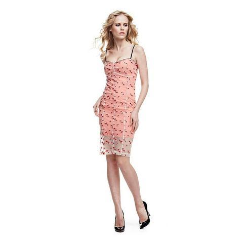 Picture GUESS jurk met borduursels multicolor 076689