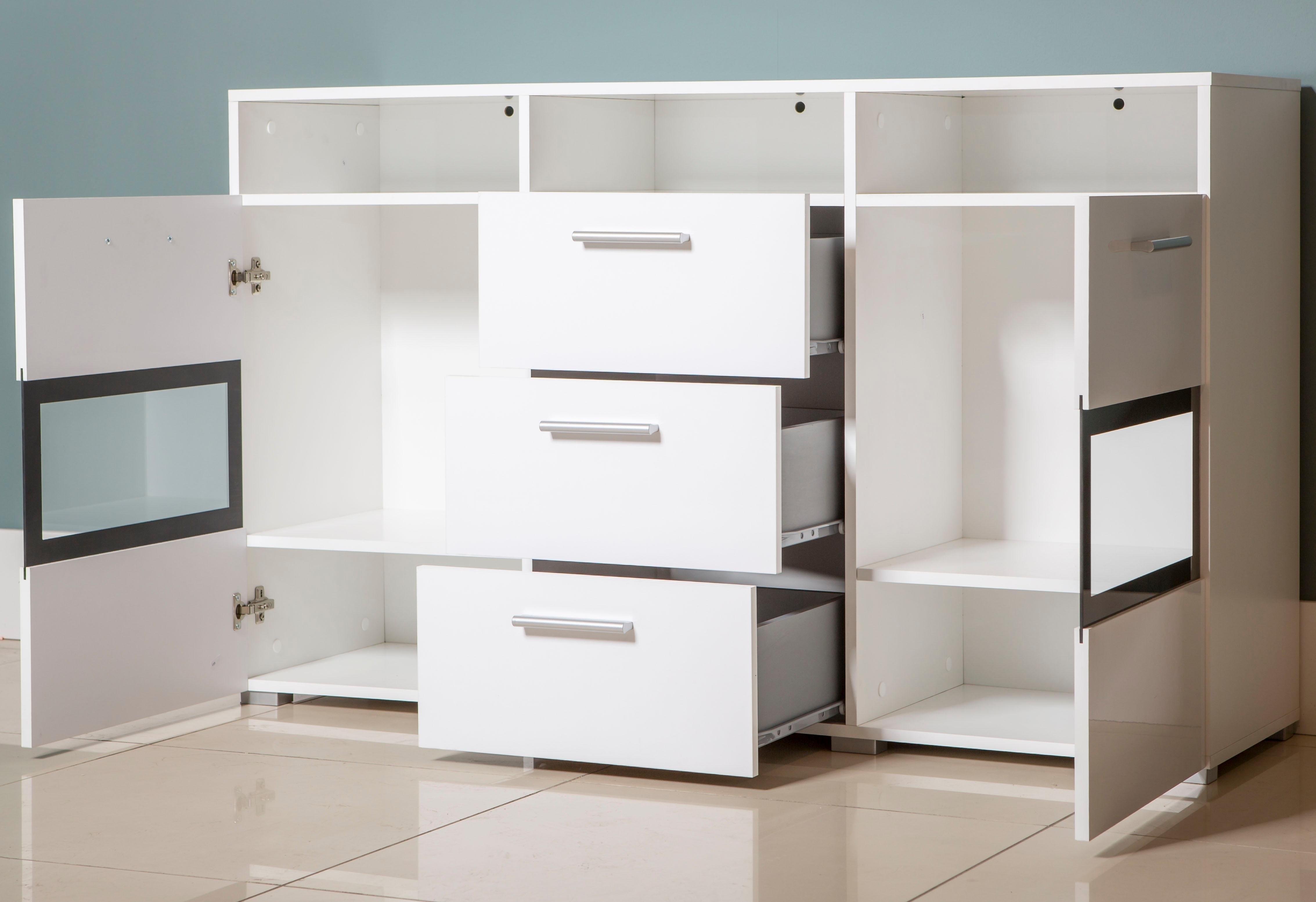 sideboard breedte 136 5 cm makkelijk gevonden otto. Black Bedroom Furniture Sets. Home Design Ideas
