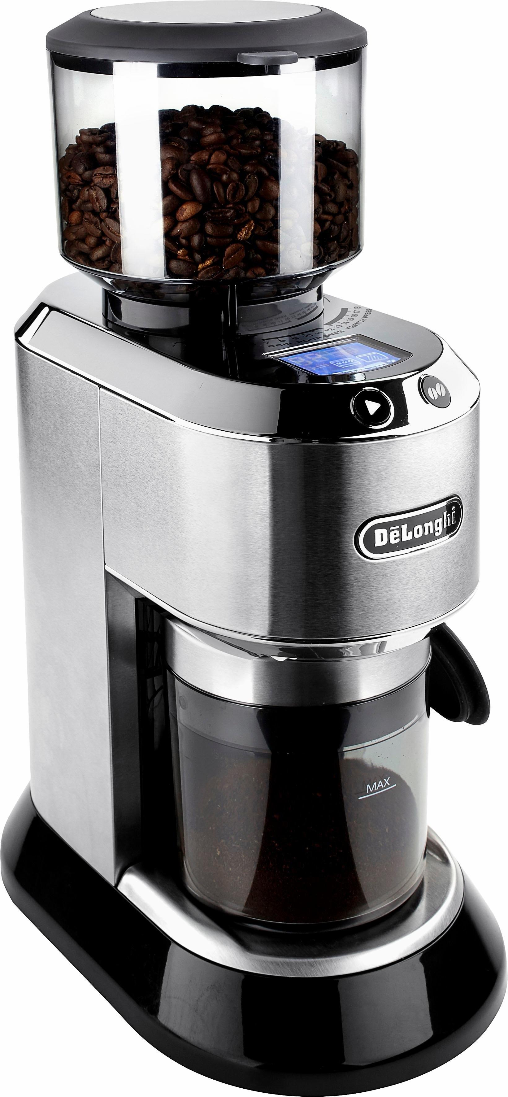 Op zoek naar een De'longhi DELONGHI elektrische koffiemolen Dedica KG521.M? Koop online bij OTTO